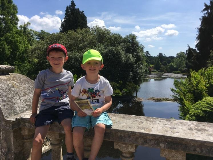 We enjoyed exploring neighbouring Sheffield Park